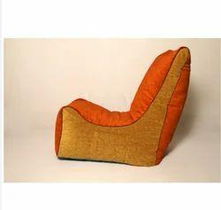 El Divano Kids Bean Bag Sofa Orange
