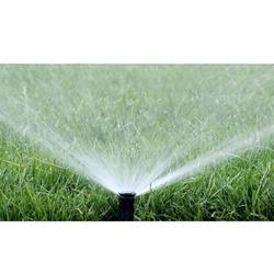 Sprinkler Irrigation Sports Ground