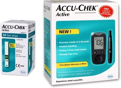 Accu- Chek Active Glucometer, for Personal