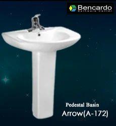 Pedestal Wash Basin - Arrow A-172