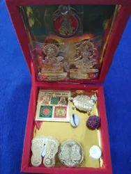 Box Golden Shree Dhan Lakshmi Kuber Dhan Varsha Yantra