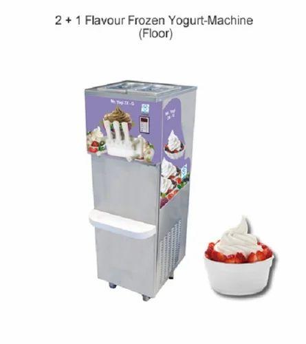 Flavor Frozen Yogurt Machine - Floor, Soft Ice Cream ...