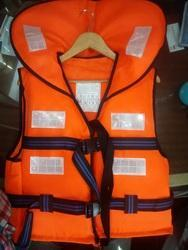 Orange EPE Foam Marine Life Jacket
