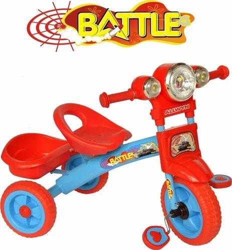 c4cce132b67 ALLWYN Fancy Tricycle, BATTLE, Allwyn Bikes Private Limited | ID ...