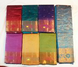 Monica Chanderi Cotton Saree