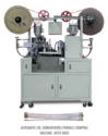 Ribbon Wire Thimble Crimping Machine Both Ends