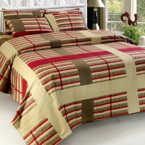 Bajaj Rotary Printing Bed Sheets   Casement Fabric