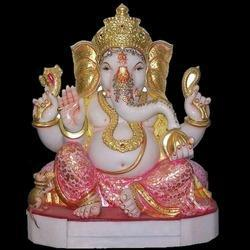 Marble God Ganesh Ji Statue