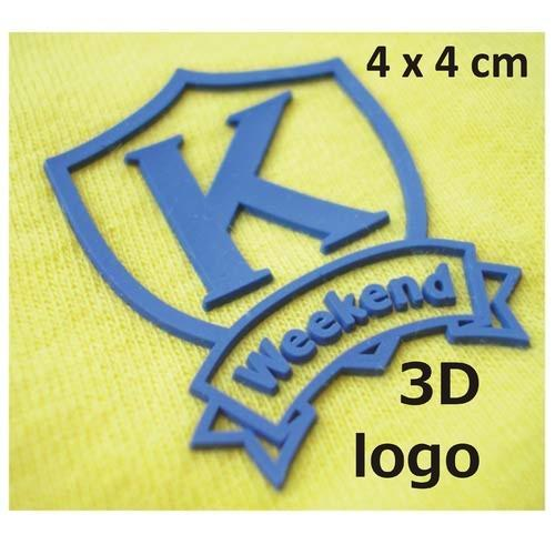 3d logo transfer stickers