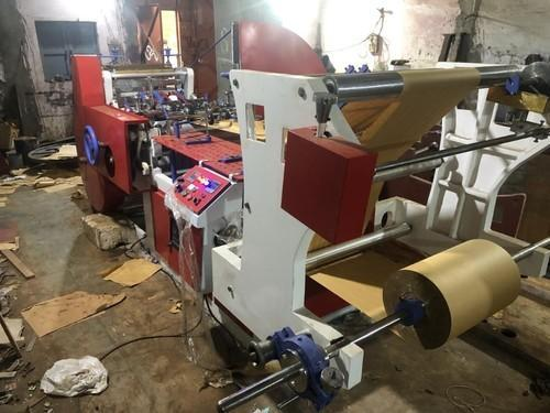 SMBI Automatic Paper Bag Making Machine 32 Inch Roll Size