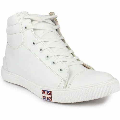 Shoe Island Men Stunning White Ankle
