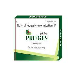 Progesterone Injection, Dose: 200 mg
