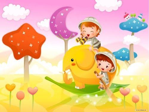Kids Cartoon Wallpaper At Rs 65 Square Feets