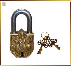 Handmade Brass Antique Lock