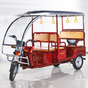 Six Seat E Rickshaw For Passenger