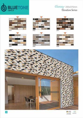 High Glossy Exterior Wall Tiles Bahar Ki Deewar Tiles बहर