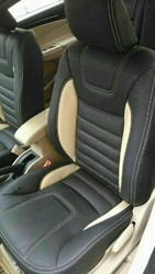 White Bucket Fit Car Seat Cover