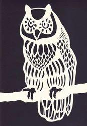 Papercut Owl Cutting Service