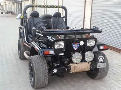 Open And Modified Jeeps Orignal Look Ford Jeep Manufacturer From Mandi Dabwali