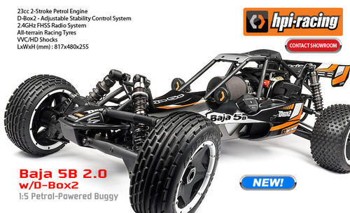 Remote Control Cars - HPI Racing 1/8th Scale Trophy 4 6 Truggy Nitro