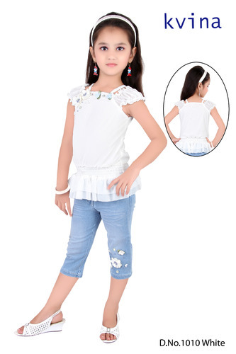 9bde9a8ebd Fancy Kids Girl Casual Wear at Rs 860 /piece | गर्ल्स ...