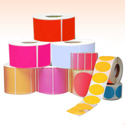 Multicolor Color Coated Label