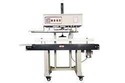 Head Adjustable Vertical Continuous Band Sealer