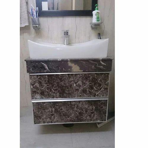 Aluminium Bathroom Vanity