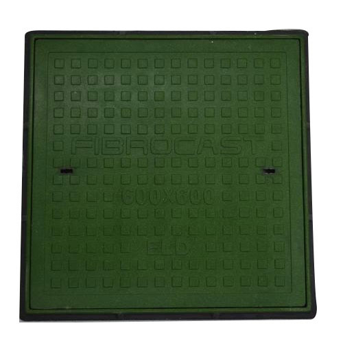 FRP Square Solid Top Manhole Covers