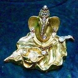 Golden God Ganesha