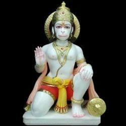 Marble Hanumanji Statue