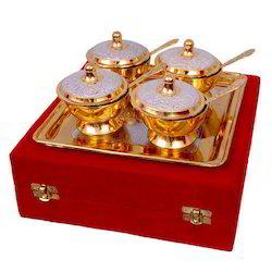 Diwali Gift Brass Bowl