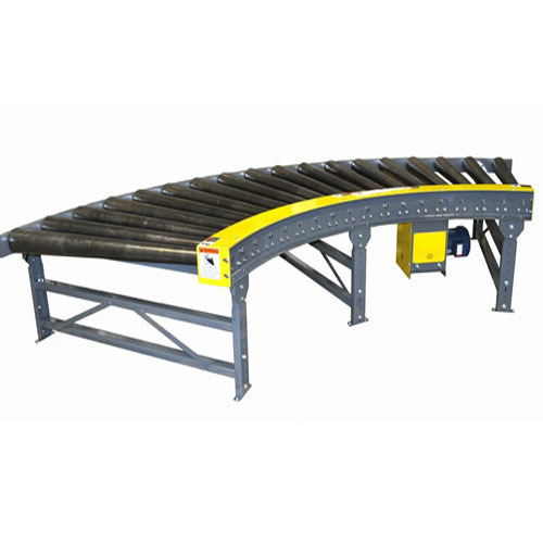 Automatic Rubber Heavy Duty Roller Conveyors, Power: 2 kW