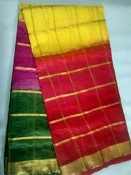 Polyester Cotton Saree