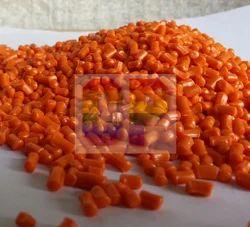 ABS Orange Recycled Granules, Pack Size: 25 Kg, 50 Kg