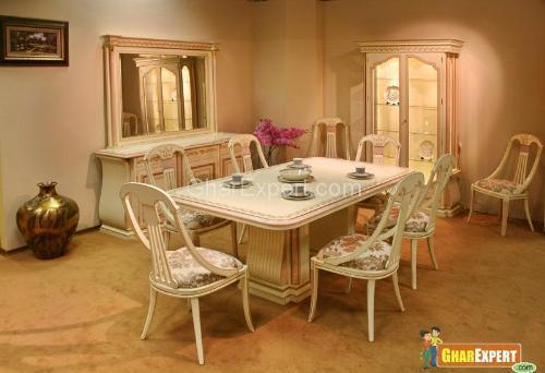 Wooden Center Table With Chair