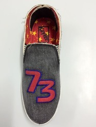 Men Casual Wear Denim Designer Casual Shoes