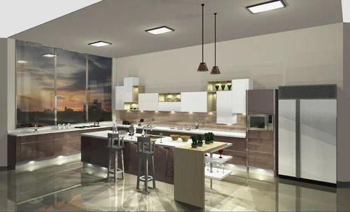 Island Modular Kitchen, Kitchen & Dining Furniture | Hatimi Sales ...
