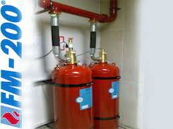 Fm 200 Fire Suppression System For Commercial Rs 400000
