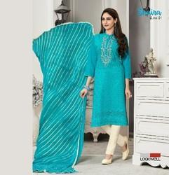 Lookwell  Shaira Pure Cotton Salwar Suit