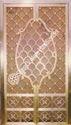 Brass Jaali Design Temple Door