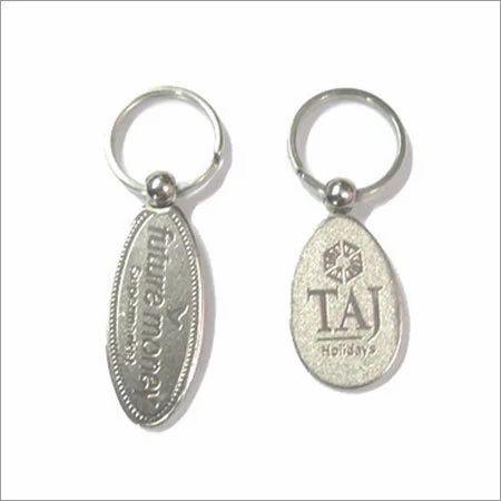 Nickel Plated Keychain