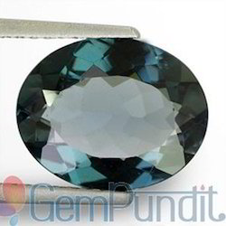 3.51 Carats London Blue Topaz