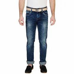 Multicolor Slim Fit Mens Jeans