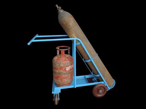 Gas Cylinder Trolley Accetylene Oxygen Single cylinder