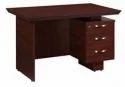 Nilkamal Vento Office Table Mahogany
