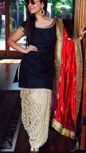 92f42987ce Party Wear Unstitched Punjabi Designer Suits, Rs 1200 /piece | ID ...