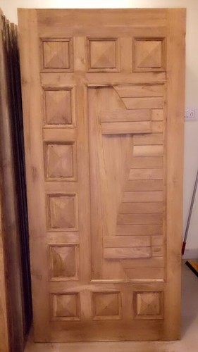 Teak Wood Doors & Teak Wood Doors at Rs 8000 /piece | Karnataka College | Bengaluru ...