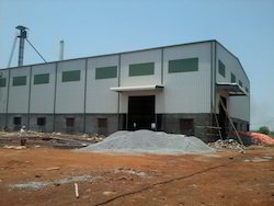 Steel Prefabricated Rice Mill Shed