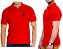 Men's Polo T Shirt With Logo Embroidery